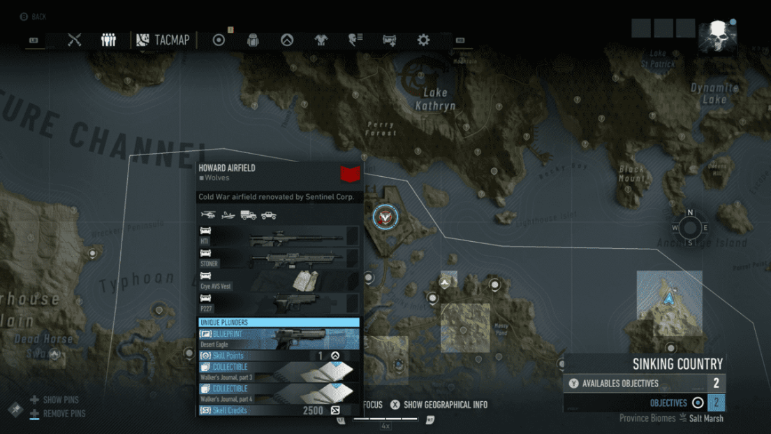 Ghost Recon Breakpoint All 70 Skill Point Locations My Great Capture Screenshot 2019 10 06 15 30 36