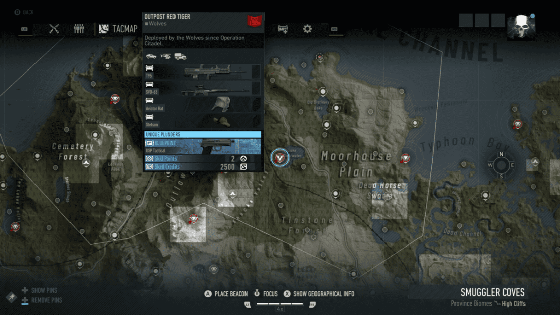Ghost Recon Breakpoint All 70 Skill Point Locations My Great Capture Screenshot 2019 10 08 15 07 22