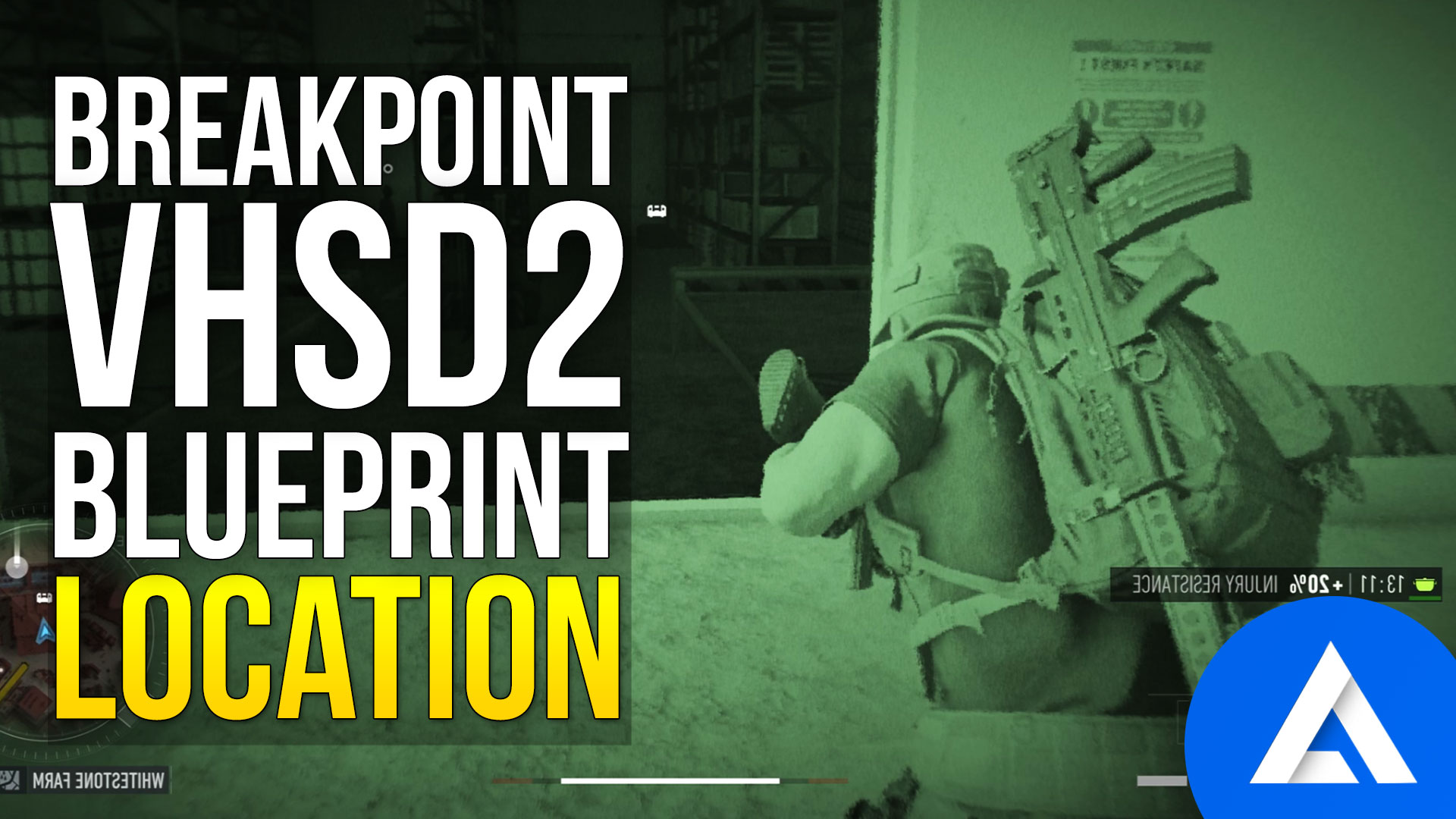 Ghost Recon Breakpoint VHSD2 Blueprint Location
