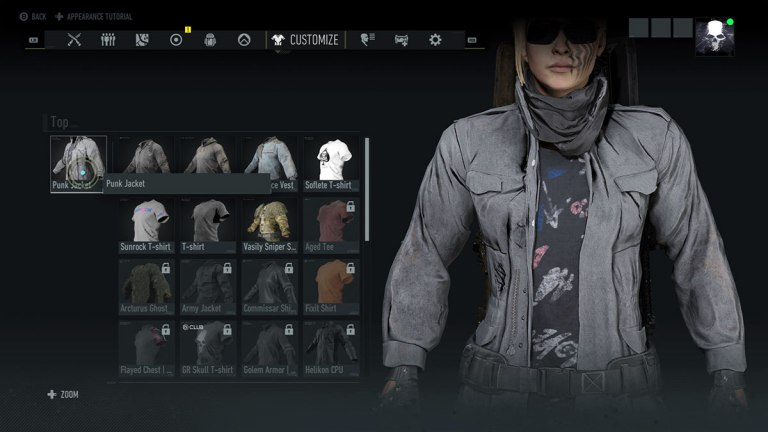 Ghost Recon Breakpoint Punk Jacket Guide