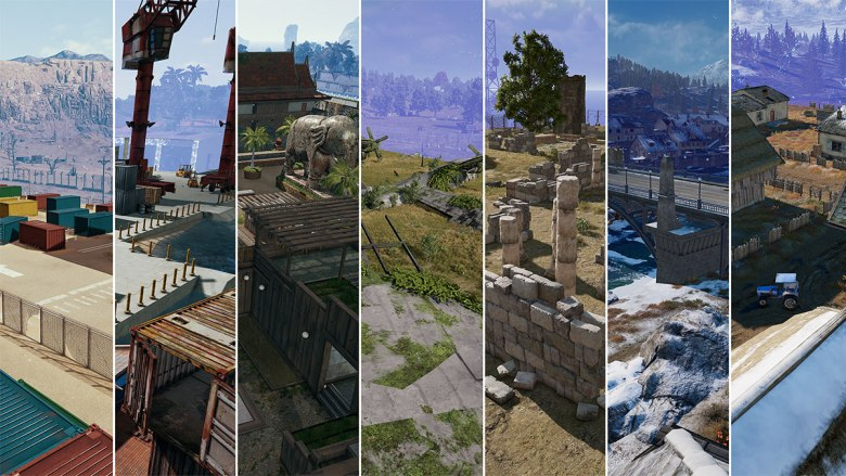 PUBG-Team-Deathmatch-maps