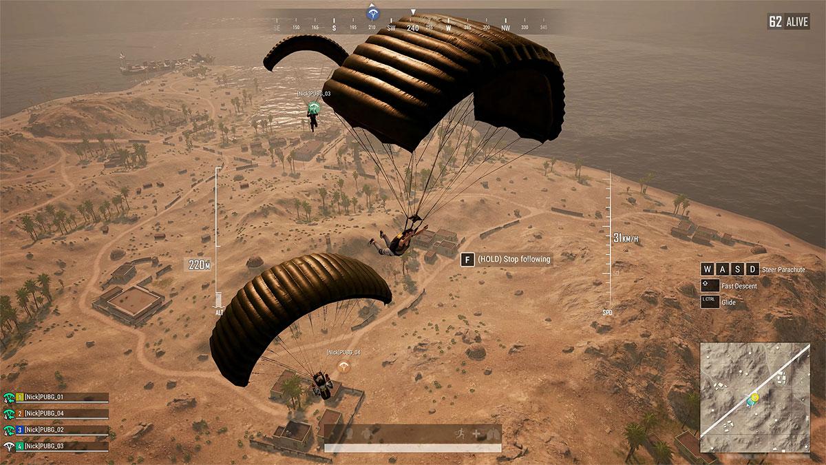 PUBG-Update-6.2-Parachutes