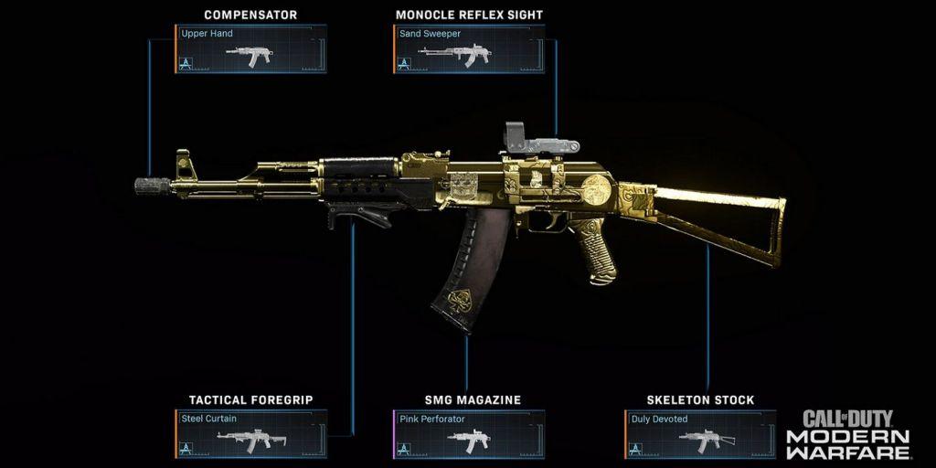 Weapon Blueprint customisation