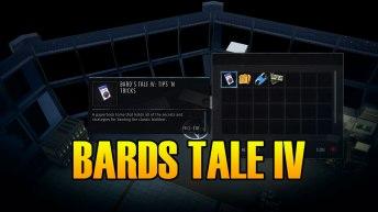 Wasteland 3 Bards Tale VI Tips & Tricks Book