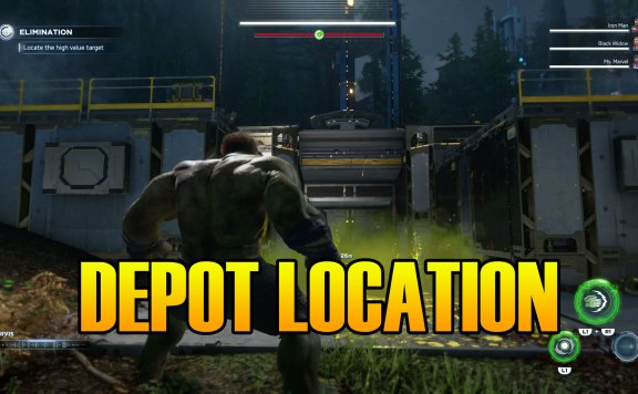 Marvel's Avengers Second Depot Location & How To Open Condition Green