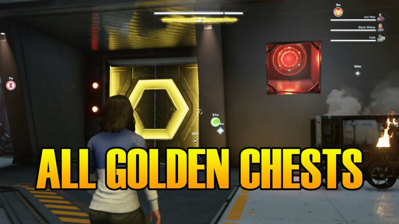 Marvel's Avengers Golden Chest Location & Secret Room Enter The Avengers