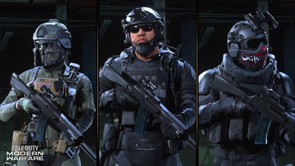 Modern Warfare Season 5 Operators