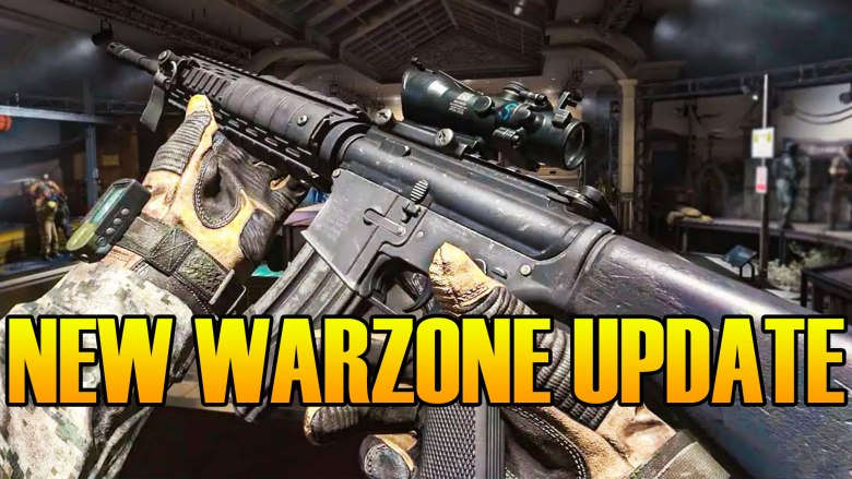 Why Today's Warzone Update Is So Big On Xbox