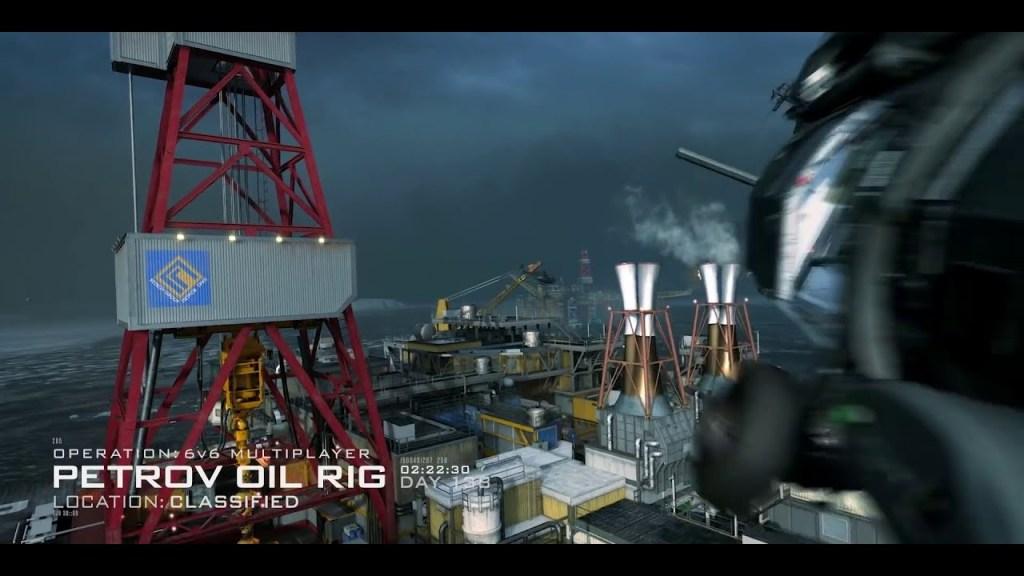 petrov oil rig modern warfare season 5