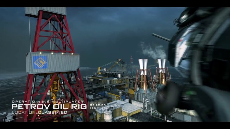 petrov oil rig modern warfare season 5