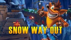 Snow Way Out Hidden Gem, Flash Back Tape & Bonus Path - Crash Bandicoot 4