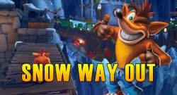 Snow Way Out Hidden Gem, Flash Back Tape & Bonus Path - Crash Bandicoot 4