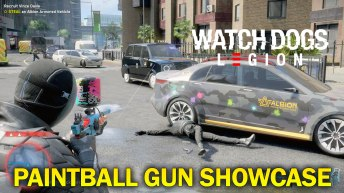 Watch Dogs Legion Paintball Gun