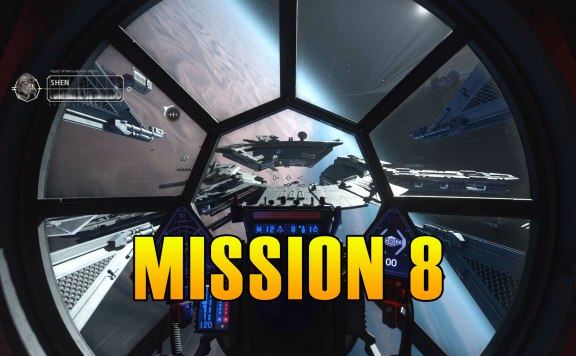 Star Wars Squadrons Mission 8 Walkthrough & Medals