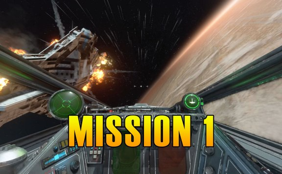 Star Wars Squadrons Mission 1 Walkthrough & Medals
