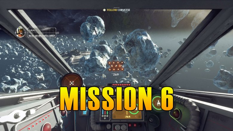 Star Wars Squadrons Mission 6 Walkthrough & Medals