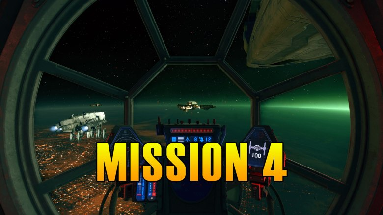 Star Wars Squadrons Mission 4 Walkthrough & Medals
