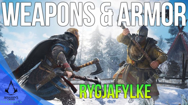 Read more about the article All Rygjafylke Weapons & Armor Locations Assassins Creed Valhalla