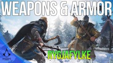 All Rygjafylke Weapons & Armor Locations