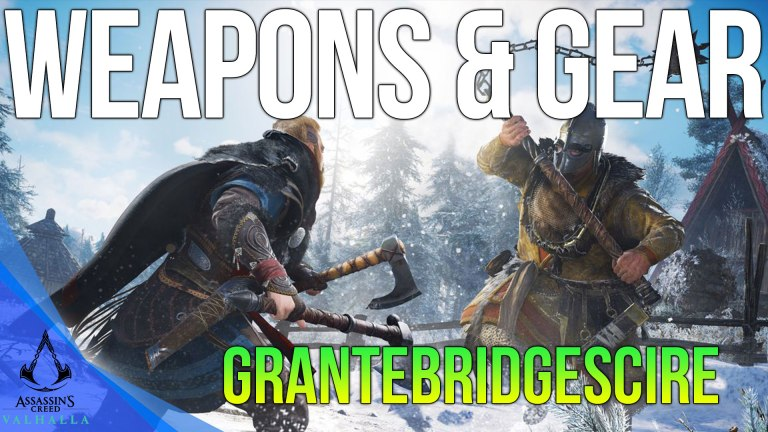 Read more about the article All Grantebridgescire Weapons & Armor Locations Assassins Creed Valhalla