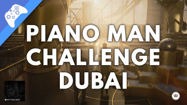 Hitman 3 - Assassinate A Target With Fibre Wire Piano Man Challenge (Dubai)