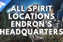 All Spirit Locations Endron's HQ