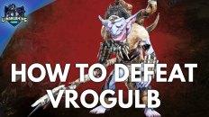 Vrogulb Frostgrip Boss Fight Dungeons & Dragons Dark Alliance