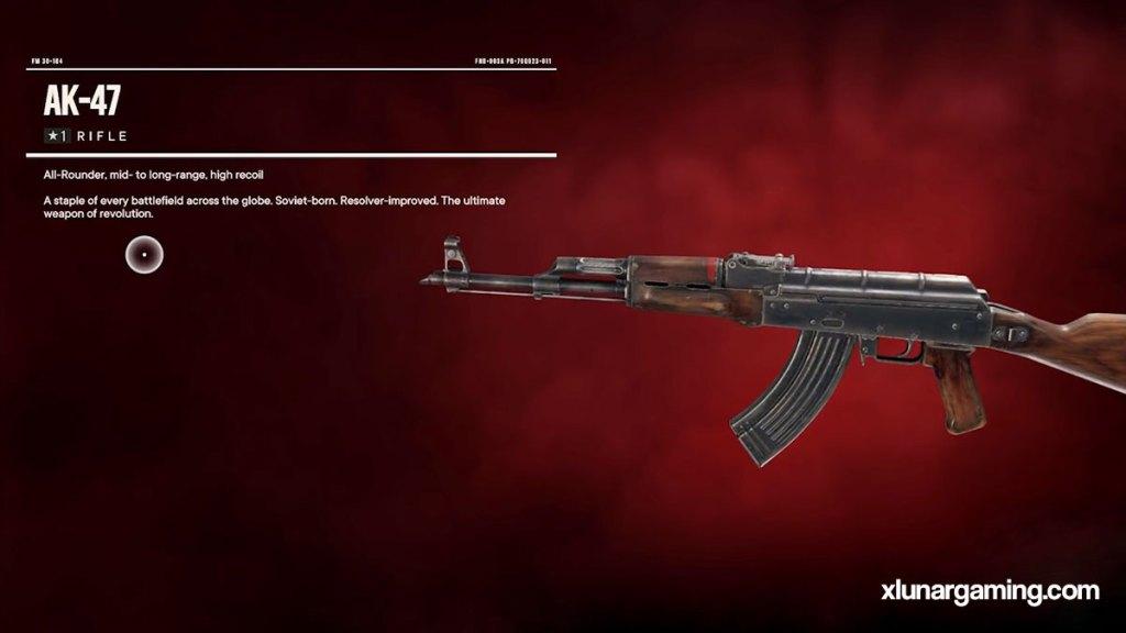 AK47 Far Cry 6
