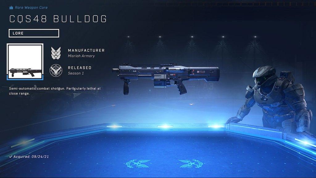 CQS48 BULLDOG shotgun