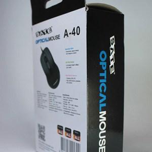 Mouse SATE óptico USB a40
