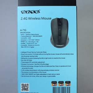 Mouse inalambrico SATE A-71G