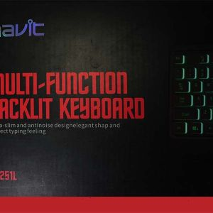 Teclado gaming Havit HV-KB251L