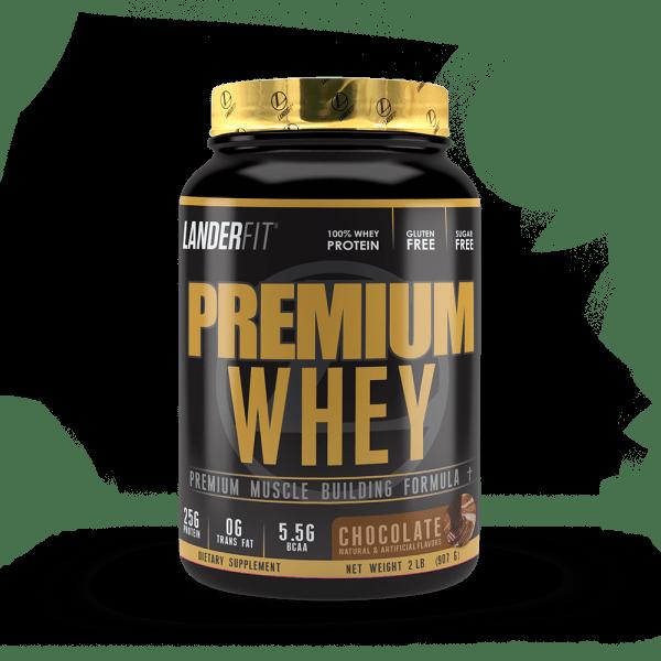 Proteina Premium Whey Landerfit 2LB
