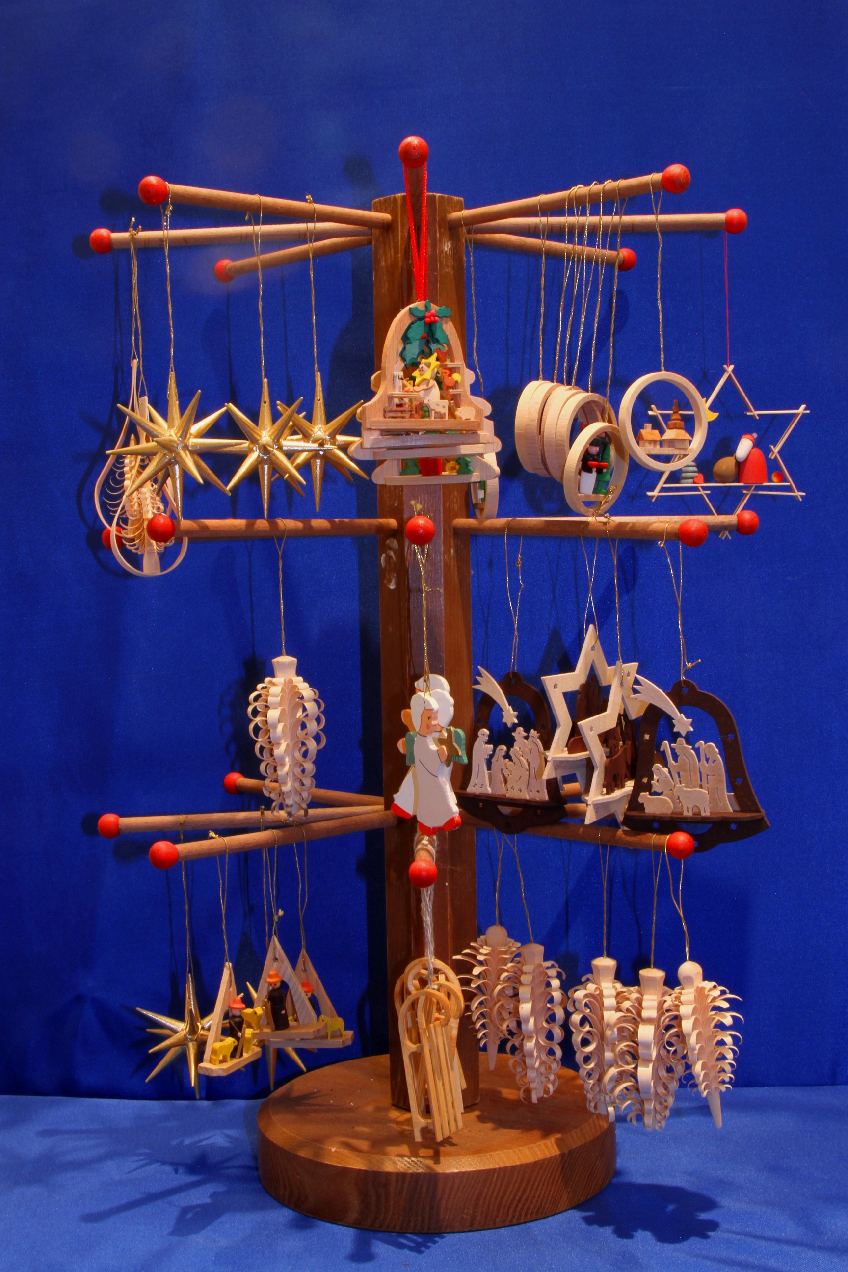 Handcrafted Traditional German Christmas Decoration