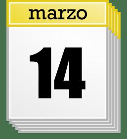 14 marzo