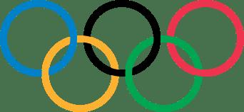 bandiera olimpica
