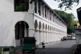 The Dutch Hospital turned shop gallery, Galle Fort