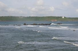 The temple across the sea @ Galle Fort