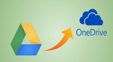 Загружайте файлы с Google Диска в OneDrive быстрее
