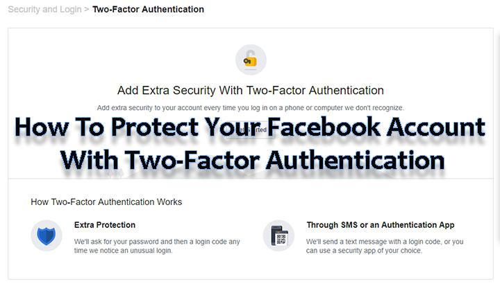 Как защитить свою учетную запись Facebook с помощью двухфакторной аутентификации
