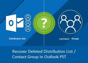 Восстановление удаленного списка рассылки в Outlook – восстановление групп контактов