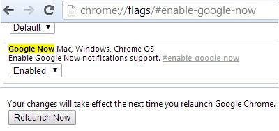 Как установить Google Now в Chrome для ПК