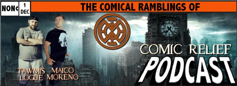 Tawmis Maico Comic Relief podcast