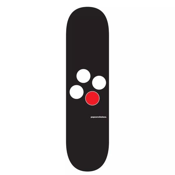 Popcorn Skate Co. ID Logo Deck