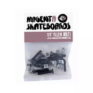 """Magenta 7/8"""" Hardware With Allen Key"""