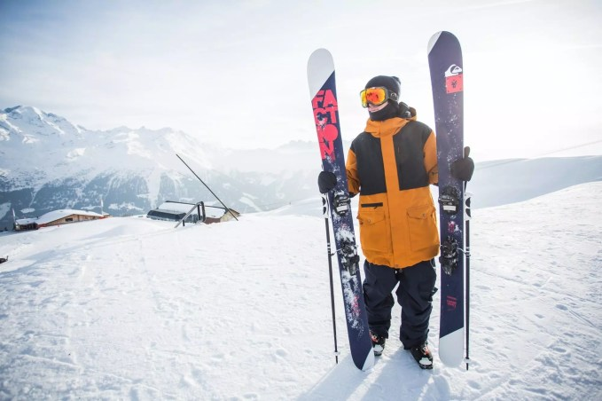 Candide with his CT 4.0 Skis