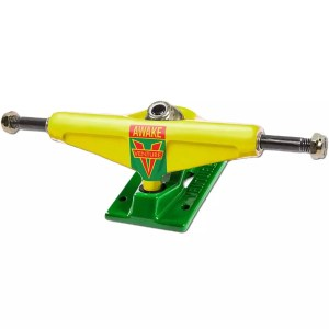 Venture Trucks Awake LOW 5.25″ Yellow/Green