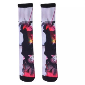 Footprint Knee High Socks - Will Barras