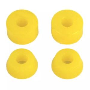 Rellik Skateboard Truck Bushings Yellow 100A (Set of 4)
