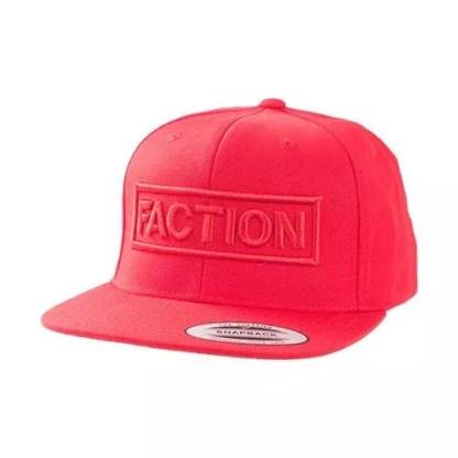 Faction 3D Logo Cap Red